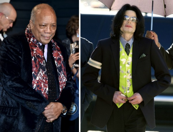 Quincy Jones e Michael Jackson (Foto: Getty Images)