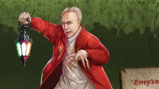 O personagem Conde Temeraire do Zombicide (Foto: Reprodução/Kickstarter)