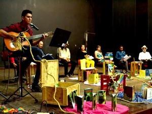 Sarau Literário (Foto: Reprodução/TV Liberal)