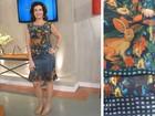Fátima Bernardes investe em looks florais. Inspire-se para a primavera