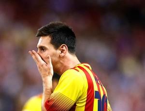 Messi Atlético de Madrid e Barcelona (Foto: Agência AP)
