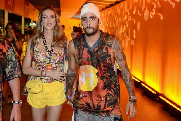 Luana Piovani e Pedro Scooby (Foto: Roberto Teixeira / Ego)