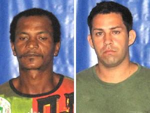 Suspeitos de estupro presos em Caxias, na Baixada Fluminense (Foto: Divulgação/Polícia Civil do Rio)