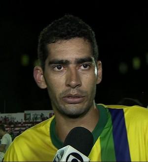 Binho marcou o gol da classificação do Socorrense (Foto: Reprodução/TV Sergipe)