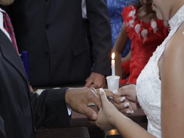 Danielly diz que prefere esquecer a cerimônia de casamento (Foto: Divulgação)