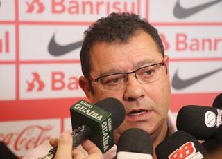 Carlos Pellegrini vice de futebol do Inter  (Foto: Eduardo Moura/GloboEsporte.com)