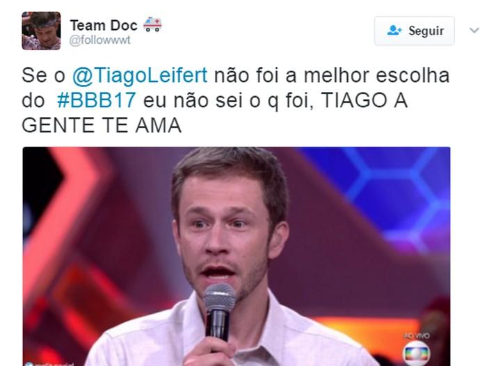 Tiago Leifert surpreso (Foto: Reprodução: internet)