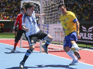 Futsal Brasil x Argentina (Foto: Andre Borges / GDF)