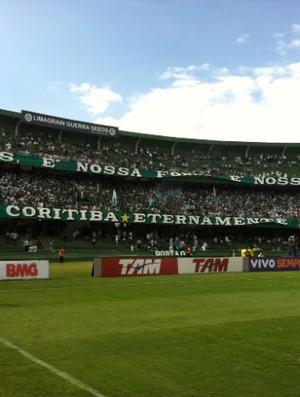 Estádio Couto Pereira Coritiba (Foto: Gabriel Hamilko / Globoesporte.com)