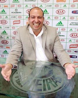 Rodrigo Geammal, novo gestor de marketing do Palmeiras (Foto: Fabio Menotti / divulgação Palmeiras)