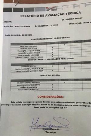 Base do Corinthians contratou atleta considerado ruim em relatório ... 61e4aa1968dd8