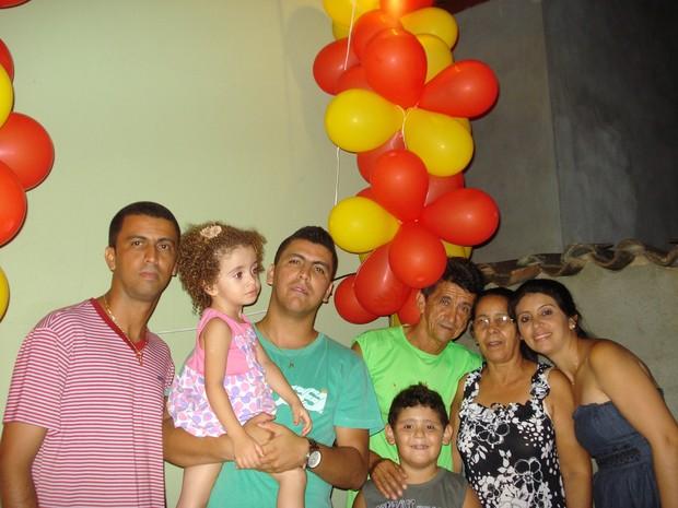 Família Martins (Foto: Andrea Alves Martins)