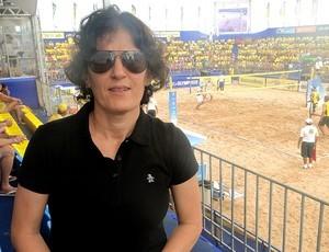 Shelda é nome marcante do vôlei de praia mundial. (Foto: Helena Rebello)