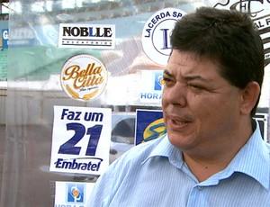 Rogério Vieira, diretor do Comercial (Foto: Reprodução EPTV)