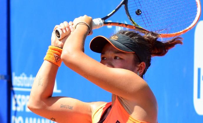 Tênis feminino future São José dos Campos (Foto: Danilo Sardinha/GloboEsporte.com)