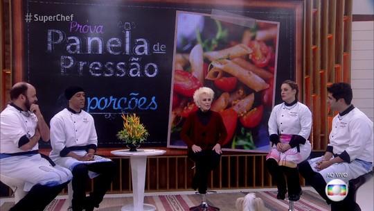 MC Koringa e Paulinho Serra estão na Panela de Pressão do 'Super Chef'