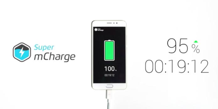 Tecnologia da Meizu carrega até 100% da bateria do celular em 20 minutos (Foto: Divulgação/Meizu)