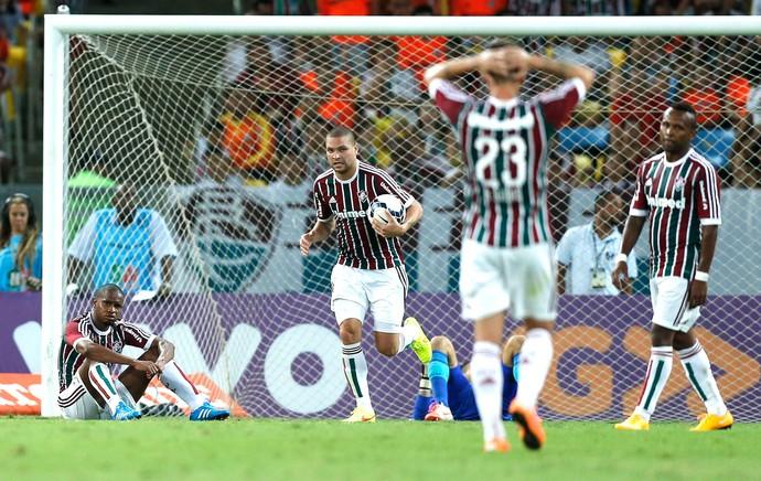 Fluminense X Chapecoense (Foto: Alexandre Cassiano / Agência O Globo)