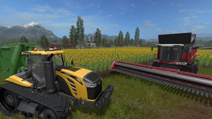 Farming Simulator 17 (Foto: Reprodução/Felipe Vinha)