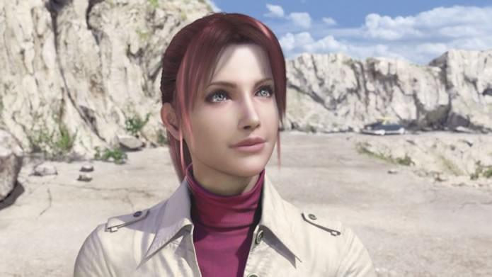 Bonita e com um sorriso doce, Claire Redfield encara hordas de zumbis e mutantes com muita valentia (Foto: Divulgação/Capcom)
