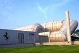 Túnel de vento da fábrica da Ferrari em Maranello, na Itália
