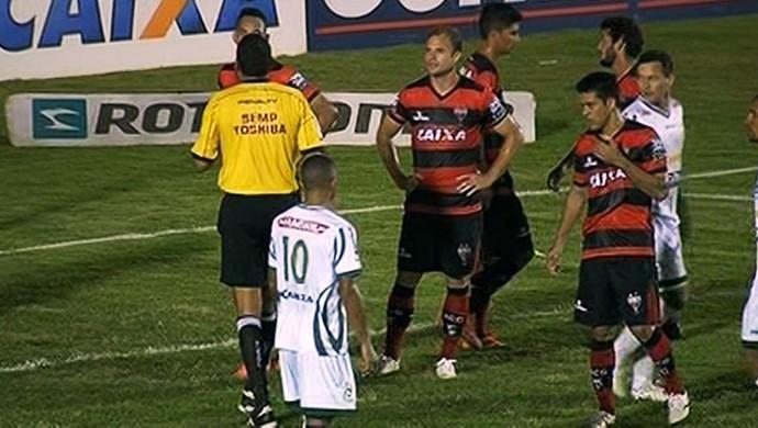 Luverdense x Atlético-GO - Série B 2016 (Foto: Reprodução / PFC)