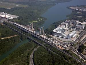 Ponte Estaiada da Barra da Tijuca deve ser entregue até o Natal  (Foto: Márcio Machado/Divulgação Secretaria Municipal de Obras)