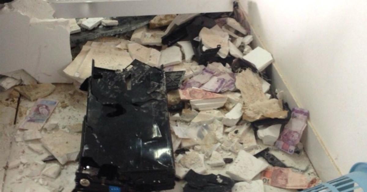 Bancos e polícia se unem para reduzir explosões de caixas ... - Globo.com