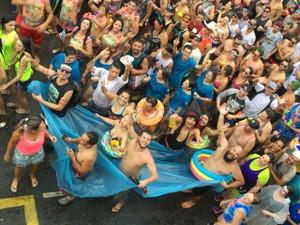 Bloco dos Moiados atrai foliões em Nazaré Paulista (Foto: Poliana Lorena)
