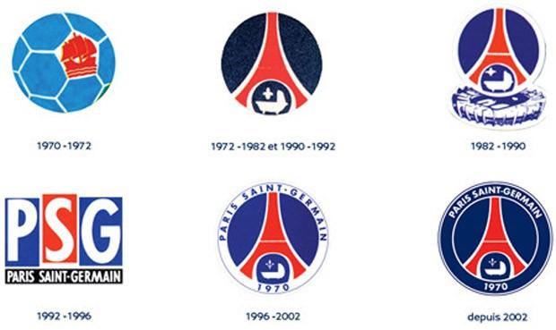 novo escudo psg paris saint german (Foto: Divulgação)