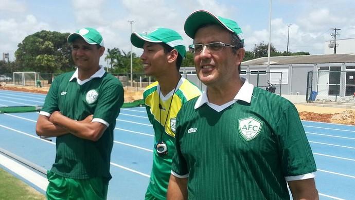 Anthoni Santoro - técnico do Alecrim (Foto: Andrei Torres/Divulgação)