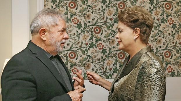 Dilma reuniu-se com Lula por quase duas horas em São Paulo