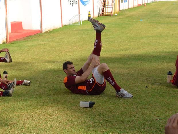 O Goleiro Wilson Junior retorna para o São Bernardo em 2013 (Foto: Tiago Campos / Globoesporte.com)