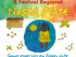 Arte criada para divulgar o evento (Foto: Apae/Divulgação)