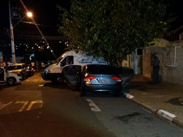 Homem matou 11 pessoas em Campinas durante a festa de Réveillon em Campinas (Foto: Gustavo Biano / EPTV)