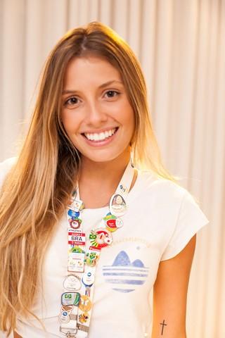 Paola Antonini, uma das musa da Paralimpíada Rio 2016, teve perna amputada após acidente e hoje usa prótese mecânica (Foto: Anderson Barros / Ego)