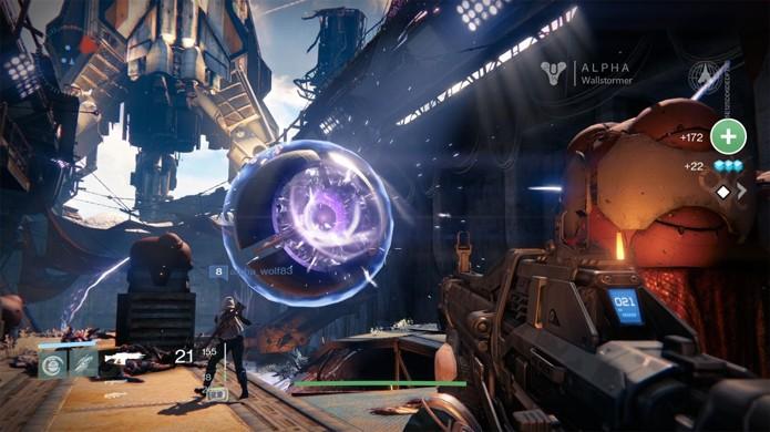 Armadura com defeito pode travar o progresso do jogador em Destiny (Foto: Got Game)