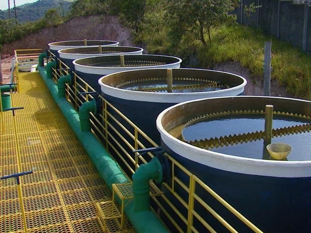 Estação de Tratamento de Água de Cambuquira começa a funcionar (Foto: Devanir Gino / EPTV)