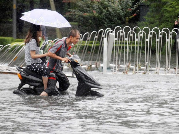 Sobe para 126 o número de mortos na China devido a chuvas