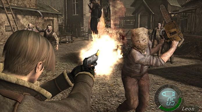Resident Evil 4 foi alvo de polêmicas, mas agradou (Foto: Reprodução)
