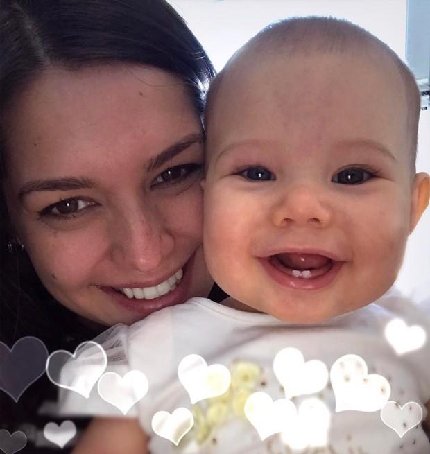Thais e Melinda (Foto: Reprodução/Instagram)