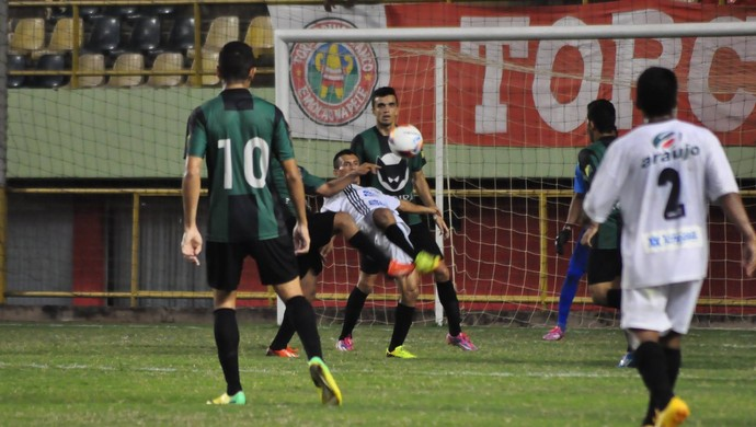 Andirá e Adesg na Arena da Floresta, em Rio Branco (Foto: Manoel Façanha/Arquivo Pessoal)