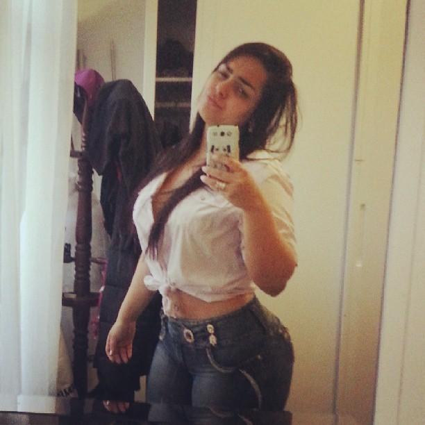 Mulher Melancia posa com cara de sono (Foto: Reprodução/Instagram)