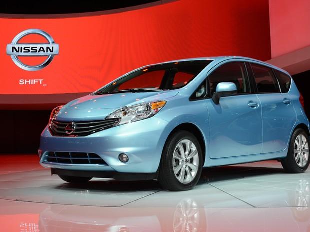 High Quality Nissan Versa Note é Revelado No Salão De Detroit (Foto: Stan Honda/AFP