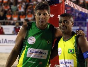 Renato Gaúcho Romário Mundial de Futevôlei (Foto: AGIF)