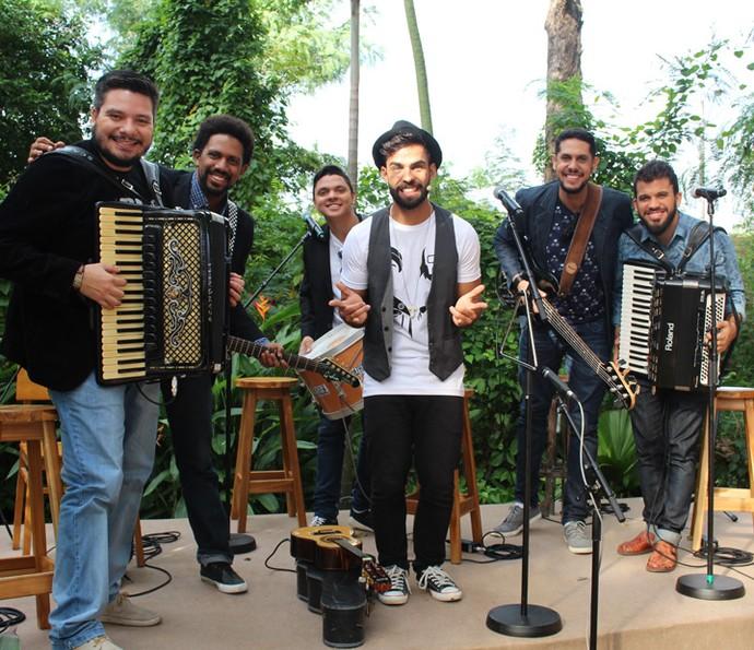 Os Gonzagas no É de Casa! (Foto: Maria Eduarda Freitas/Gshow)