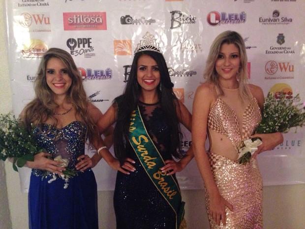 Candidatas comemoram o resultado em Fortaleza (Foto: Lelé Fantim/Divulgação)