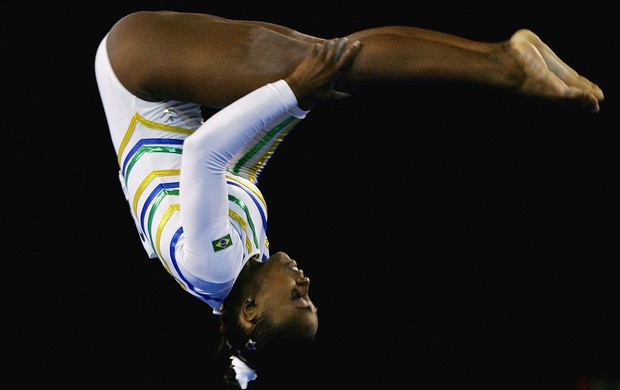 Daiane dos Santos no Mundial de 2005 (Foto: Getty Images)