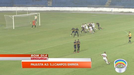 São José FC marca de pênalti no fim e arranca empate com Desportivo Brasil