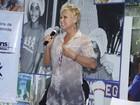 Xuxa participa de evento em sua fundação, no Rio